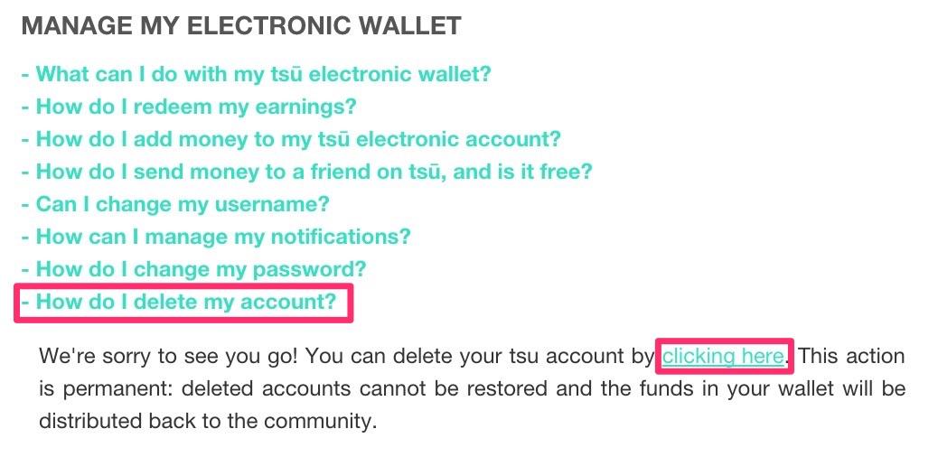 tsu(スー)のアカウント削除方法